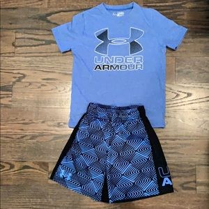 Like new under armor outfit